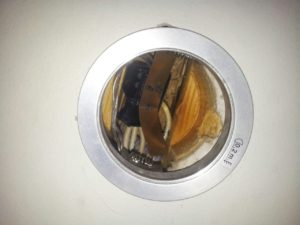 Downlight rett i bjelkelag